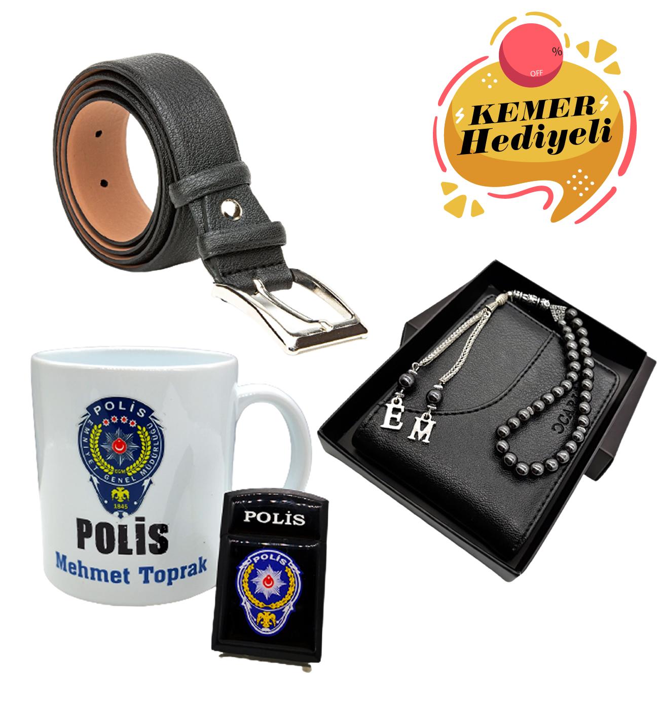 Erkek Polise Hediye Seti Kapıda Ödeme - 46